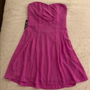 Fuchsia dress!
